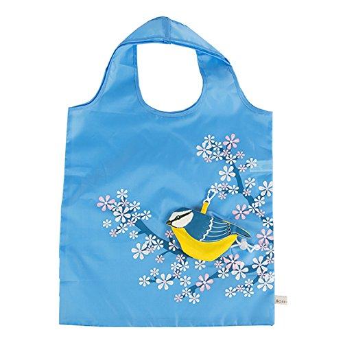 Eco-Friendly-Foldable-Shopping-bag-Blue-Bird