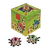 Geschenkwürfel Girlie-Käfer 87,5 g / Schokolade Käfer / Schokokäfer Box