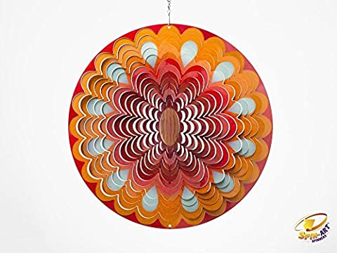 Spin Art Design Soleil à vent