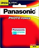 #9: Panasonic Battery Photo Lithium CR123AW/1BE 3V Battery (Multicolor)