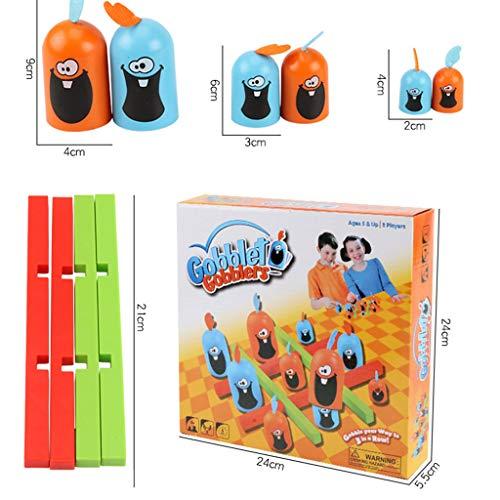 jieGREAT Räumungsverkauf  , Fähigkeit Gebäude Pädagogisches Spielzeug Indoor Gobblet Gobblers Brettspiel Spielzeug für Kinder