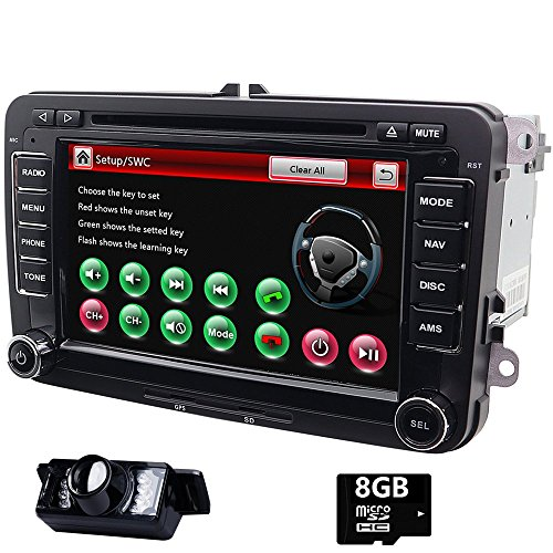 7 pulgadas doble Din en Dash Car Stereo para VW Volkswagen Golf...