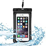 DONWELL Floatable Waterproof Case, Universal Dry Bag Mobile