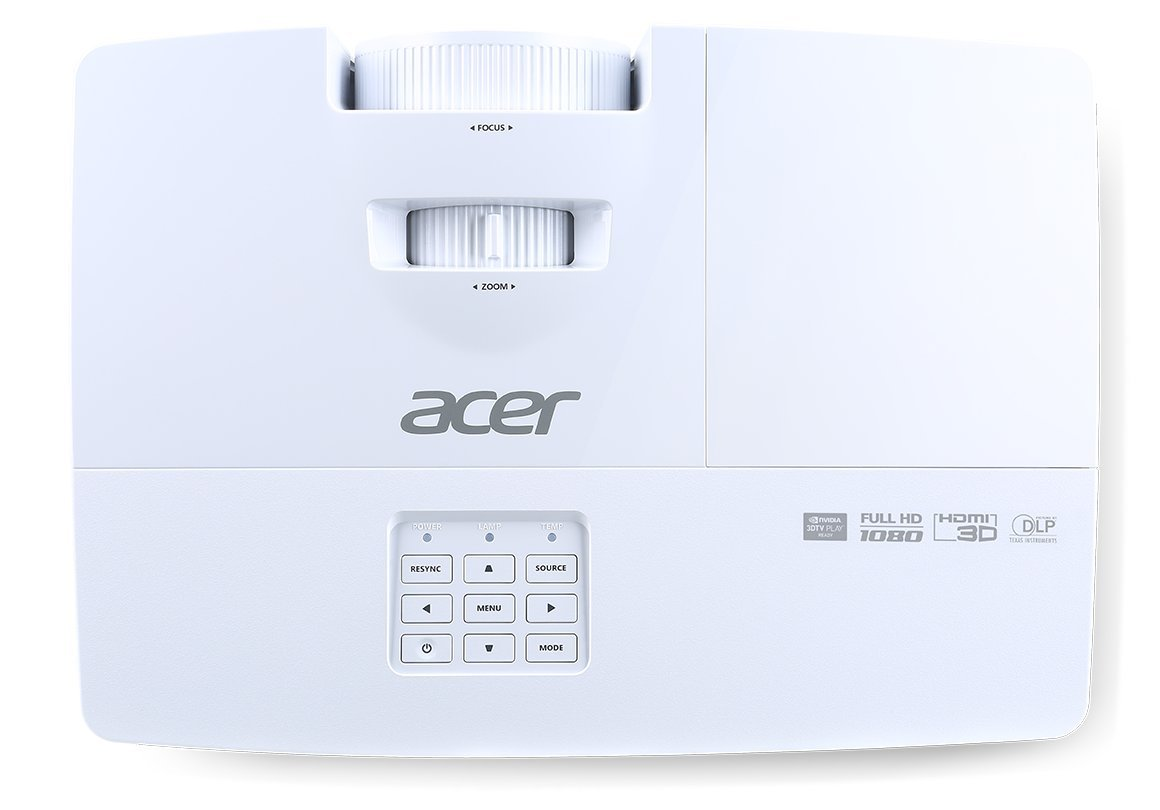 51SjD6LH2vL - Acer MR.JNB11.002 H6517ABD Full HD Home Cinema Projector (1080p Resolution, 3200 Lumens, 20000:1 Contrast Ratio)