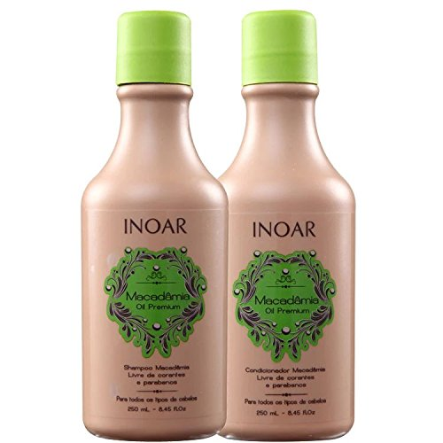 INOAR Duo Macadamia Shampoo and Conditioner Kit 250 ml