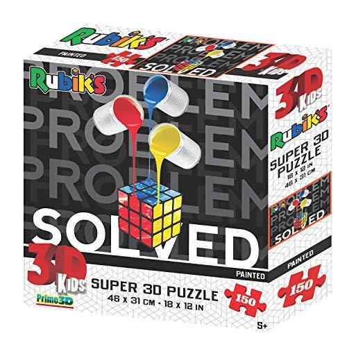 Rompecabezas de 150 Piezas Pintado Super 3D de Rubik