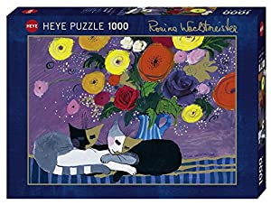 Heye 29818Sleep Well. Standard 1000Piezas, Rosina Wachtmeister, Juego