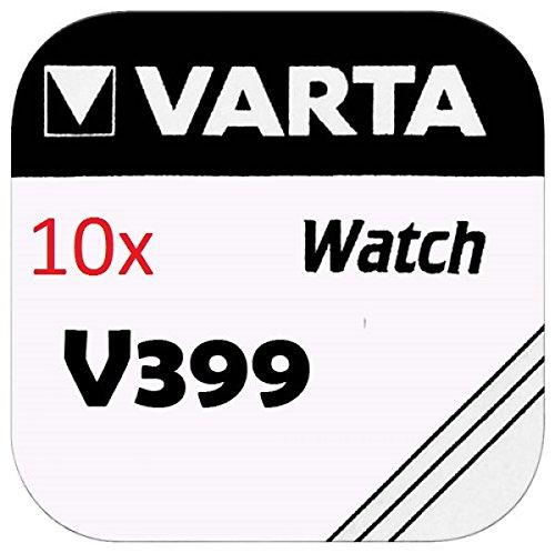 VARTA KNOPFZELLEN 399 SR927W (10 Stück, V399)