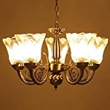 Weldecor Antique Brass chandelier/Jhoomer/pandent Lamp/Hanging Light/Ceiling decorative lamp