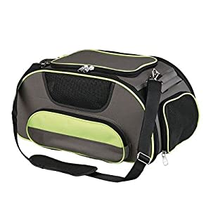 Trixie-Wings-AirlinDog-Carrier-46-x-28-x-23-cm-BrownGreen