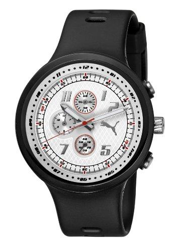 Puma Time Motorsport  Herren-Armbanduhr XL Slick Chronograph Plastik A.PU910401002 (Puma Slick)