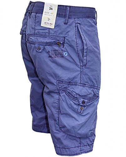 JET LAG Herren Cargo Shorts CGK Jakarta lilac Lilac