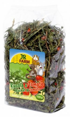 Jr Farm Rucula y tomate 100g.. Comida para roedores