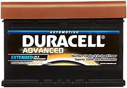 : Duracell Advanced da45l 043 type de batterie de