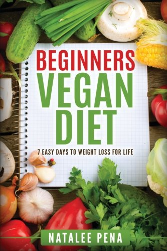 Beginners Vegan Diet 7 Easy Days To Weight Loss For Life Vegan Vegan Diet Vegan Cookbook Weight Loss Book
