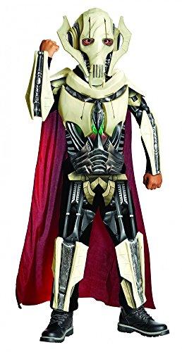 Star Wars General Grievous Kostüm Kinder Kinderkostüm Lichtschwert Gr. S - L, Größe:M (Grievous Kostüm)