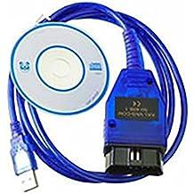 Cable USB OBD2OBD-II VAG KKL para 409,1para Audi VW SKODA SEAT, instaladores incluidos, artículo solo apto para vehículos fabricados antes de 2004, por Royaltec