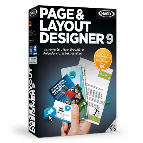 MAGIX Page & Layout Designer 9