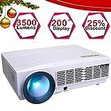 """Best Projecteurs Hd Home Cinéma Multimédia Lcd Led - 3500 Lumens Vidéoprojecteur HD, Vidéo Projecteur 5.8"""" LCD Review"""