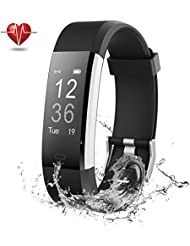 Fitness Tracker, NOVETE Pedometer Sports Activity Tracker Bracelet£¬IP67 Waterproof Wireless Smart Wristband Smart Watch witch Heart Rate Monitor/sleep monitor for Android and IOS