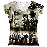 The Walking Dead T-Shirt Fille Sublimation (2XL)