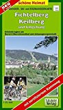 Doktor Barthel Wander- und Radwanderkarten, Wanderkarte und Radwanderkarte 'Die 1000er im Erzgebirge' (Schöne Heimat) - Verlag Dr. Barthel