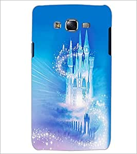 PrintDhaba Glass Castle D-2450 Back Case Cover for SAMSUNG GALAXY J5 (Multi-Coloured)