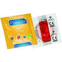 Pasante Aroma Kondome mit Geschmack (144er Packung, Pasante Strawberry Crush) Condoms aromatisiert Erdberre Großpackung... preisvergleich bei billige-tabletten.eu