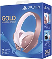 Sony Playstation Gold Wireless Headset - Rose Gold Edition