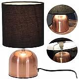 LS Design Touch Tischleuchte Tischlampe Büroleuchte Schreibtischlampe Kupfer Kugel