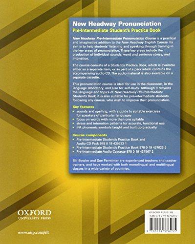 New Headway Pronunciation Pre-Intermediate. Coursebook: Student's Book Pre-intermediate lev