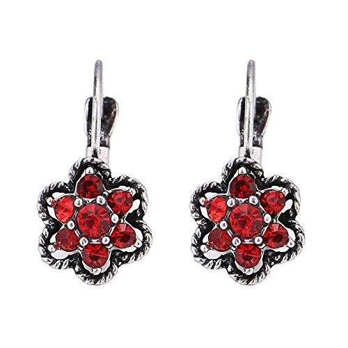 chic-net-pendientes-de-laton-antiguo-de-flores-de-plata-trenzado-frontera-piedras-rojas
