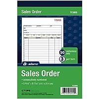 Adams Sales Invoice Book Carbonless DCU5841
