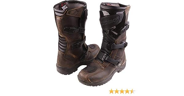 Modeka Ikarus Motocross Boots Brown 42 Auto