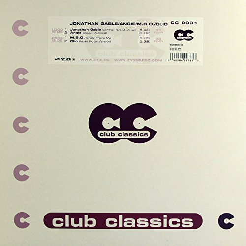 Jonathan-Angie-M.B.O.-C Gable: Central Park-Clouds-Crazy Phon [Vinyl Single] (Vinyl)