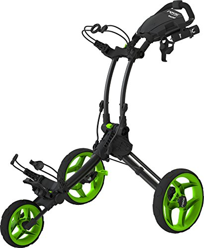 Rovic Chariot de Golf Clicgear Rv1C, Gris Anthracite/Vert anis