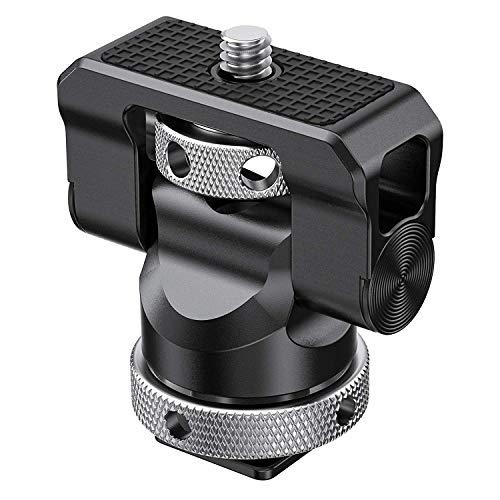 SMALLRIG Schwenken und Kippen Monitor Mount mit Cold Shoe Adapter - BSE2346