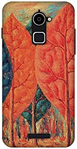 The Racoon Grip The Fire - Magritte hard plastic printed back case / cover for Coolpad Note 3 Lite