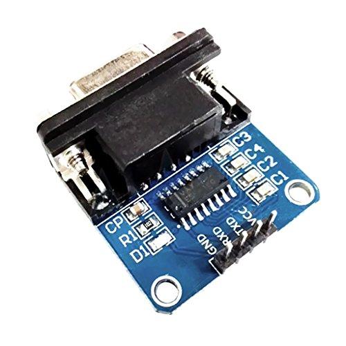 MagiDeal Rs232 zu Seriell TTL Converter Modul Für den Umbau des Radios, GPS, den Test des Autos, Festplattenreparatur