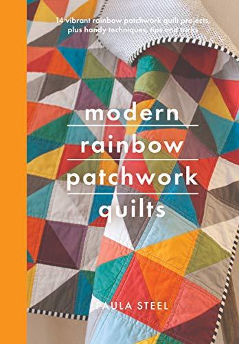 Modern Rainbow Patchwork Quilts (Crafts)