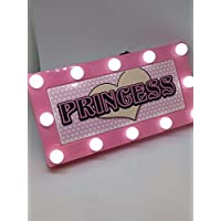 PRINCESS Childrens LED Personalised Name In Lights room Sign