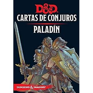 D&D Cartas de Conjuros Paladin Lengua española