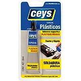 CEYS 501027 Adhesivo plasticceys, Azul, 0