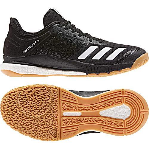 adidas Herren Volleyballschuhe Crazyflight X3 CBLACK/FTWWHT/GUMM1 44 - Adidas Volleyball Schuhe