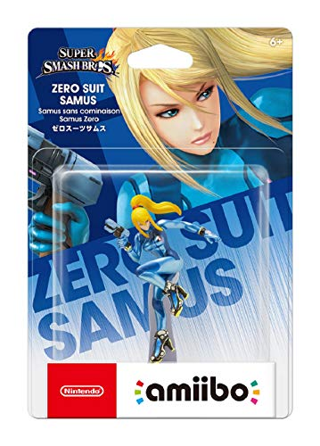 Nintendo amiibo Super Smash Bros. - zero suit samus (Nintendo Wii U/3DS) [Japan Import] - 2
