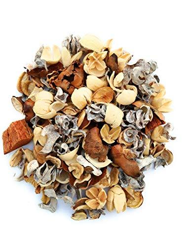 Aveelo - profumo per ambienti, fragranza: potpourri, profumatore per ambienti e fiori naturali, fiori essiccati e vaniglia, beige (bianco)