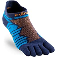 INJINJI Socks PERFORMANCE ULTRA COURSE No Show Chaussettes Course Bleu