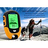 Generic Sunroad FR500 Multifunction Outdoor Altimeter - Barometer, Compass, Thermometer, Hygrometer, LED Torch, IPX4