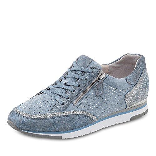 Donne Sneaker 38 38.5 39 40 alzavola Gabor 64.322.10 pelle intercambiabile blau