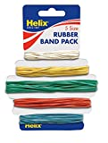 Helix Rubber Bands (Pack of 75 in  assorted sizes)